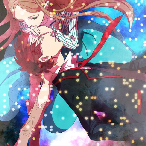 Tags: Anime, Pixiv Id 882767, Mawaru Penguindrum, Takakura Kanba, Takakura Himari, School Uniform (Mawaru Penguindrum), Pixiv, Fanart