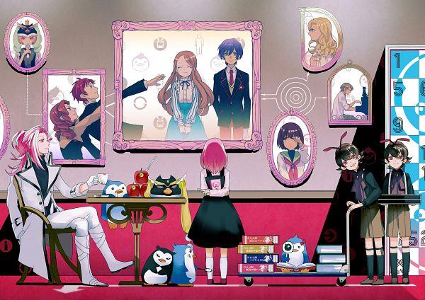 Tags: Anime, Koukou64, Mawaru Penguindrum, Penguin No.1, Shirase, Takakura Kanba, Natsume Masako, Watase Sanetoshi, Oginome Momoka (Mawaru Penguindrum), Oginome Ringo, Tokikago Yuri, Penguin No.3, Natsume Mario