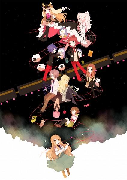 Tags: Anime, Shichi, Mawaru Penguindrum, Oginome Ringo, Tokikago Yuri, Princess of the Crystal, Takakura Shouma, Tabuki Keiju, Penguin No.3, Takakura Himari, Esmeralda (Mawaru Penguindrum), Penguin No.2, Oginome Momoka (Mawaru Penguindrum)