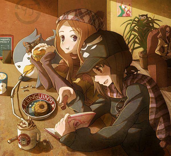 Tags: Anime, Vinhnyu, Mawaru Penguindrum, Oginome Ringo, Takakura Himari, Esmeralda (Mawaru Penguindrum), Natsume Masako, Penguin No.3, Diary