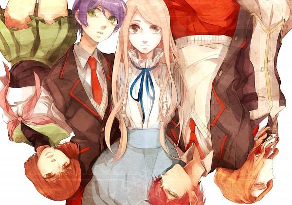 Tags: Anime, Hiroaki (angie), Mawaru Penguindrum, Takakura Himari, Takakura Kanba, Natsume Masako, Oginome Ringo, Takakura Shouma, Takakura Twins