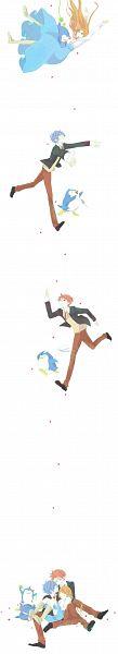 Tags: Anime, Pixiv Id 1061576, Mawaru Penguindrum, Takakura Shouma, Takakura Himari, Penguin No.3, Takakura Kanba, Penguin No.2, Penguin No.1, Takakura Twins