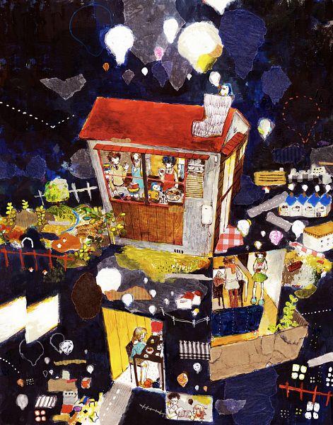 Tags: Anime, momoc, Mawaru Penguindrum, Takakura Shouma, Penguin No.3, Takakura Himari, Penguin No.2, Takakura Kanba, Penguin No.1, Tokikago Yuri, Oginome Ringo, Tabuki Keiju, Kitchen