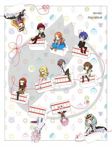 Tags: Anime, Pixiv Id 2980920, Mawaru Penguindrum, Takakura Shouma, Oginome Momoka (Mawaru Penguindrum), Watase Sanetoshi, Takakura Himari, Natsume Mario, Takakura Kanba, Tokikago Yuri, Princess of the Crystal, Tabuki Keiju, Oginome Ringo