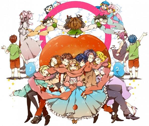 Tags: Anime, Mam233, Mawaru Penguindrum, Penguin No.2, Natsume Mario, Takakura Shouma, Esmeralda (Mawaru Penguindrum), Penguin No.1, Souya, Takakura Himari, Natsume Masako, Utada Hikari, Shirase