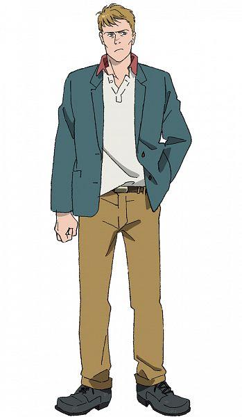 Tags: Anime, Hayashi Akemi, MAPPA, Banana Fish, Max Lobo, Cover Image, Official Art