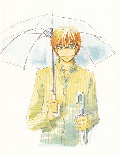 Tags: Anime, Umino Chika, Hachimitsu to Clover, Mayama Takumi, Official Art