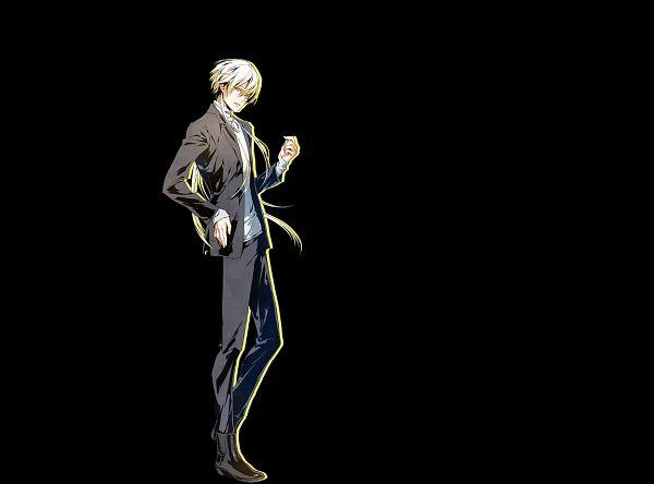 Tags: Anime, Usuba Kagerou, Otomate, DESIGN FACTORY, Variable Barricade, Mayuzumi Shion, Cover Image, Official Art