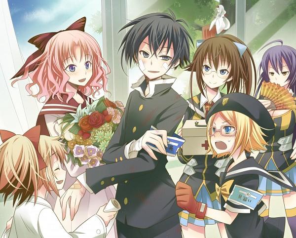 Tags: Anime, Torino Rito, Medaka Box, Kurokami Medaka, Takarabe Ima, Kikaijima Mogana, Ajimu Najimi, Kumagawa Misogi, Hitoyoshi Hitomi, Emukae Mukae, Harem, Pixiv, Fanart