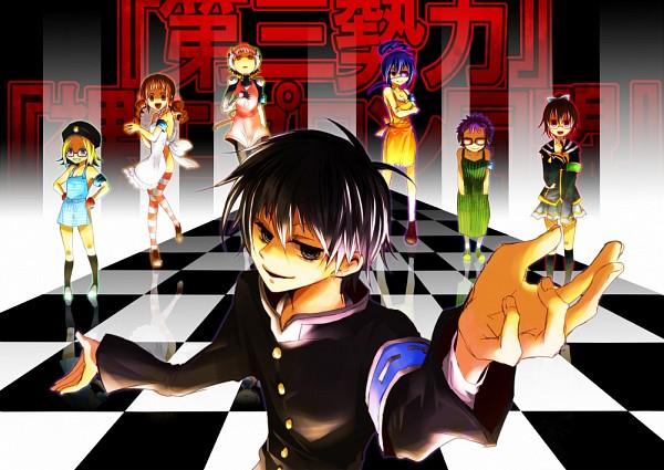 Tags: Anime, Ariapple, Medaka Box, Kumagawa Misogi, Kikitsu Kiki, Kibougaoka Suishou, Takarabe Ima, Yojirou Tsugiha, Kikaijima Mogana, Wanizuka Shori