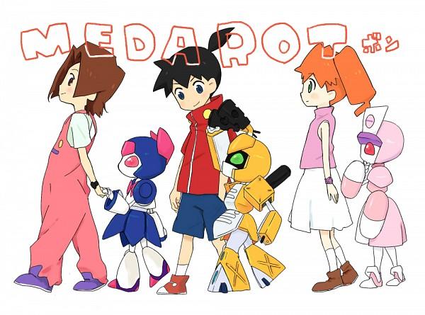 Tags: Anime, Pixiv Id 8513, Medarot, Amazake Arika, Metabee, Tenryou Ikki, Neutranurse, Brass, Junrei Karin, Arika Amazake, Pixiv