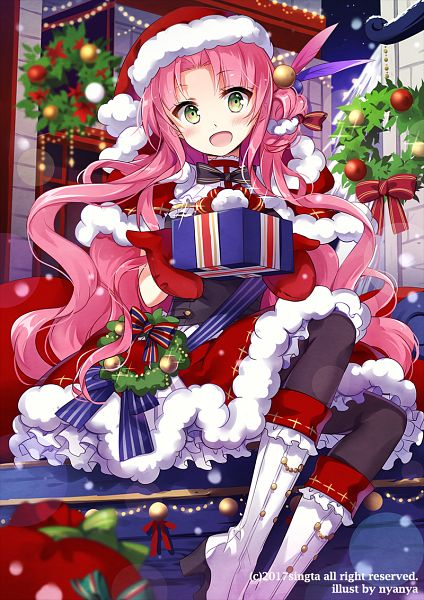 Tags: Anime, nyanya, Sid Story, Medicia (Sid Story), Wreath, Official Card Illustration, Official Art