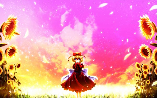 Tags: Anime, Nekominase, Touhou, Medicine Melancholy, Mouthless, Wallpaper