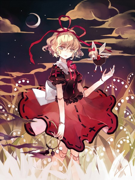 Tags: Anime, Clea, Touhou, Su-san, Medicine Melancholy, Lily Of The Valley, Ball Jointed Doll, Fanart, Fanart From Pixiv, Pixiv