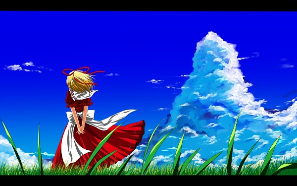 Tags: Anime, Nekominase, Touhou, Medicine Melancholy, Pixiv, Wallpaper, Fanart From Pixiv, Fanart