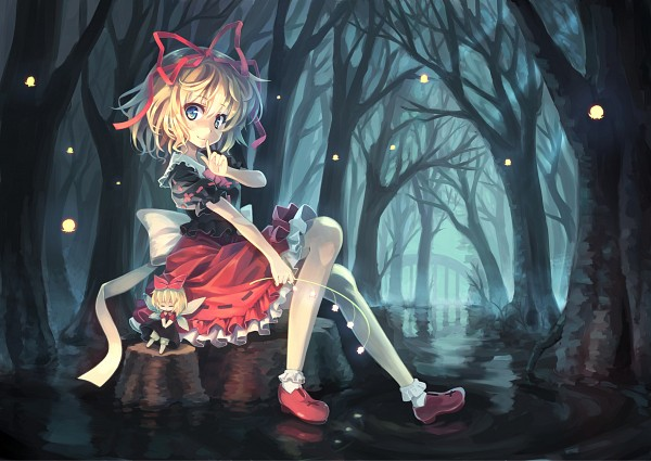 Tags: Anime, Orita Enpitsu, Touhou, Su-san, Medicine Melancholy, Fanart From Pixiv, Fanart, Pixiv