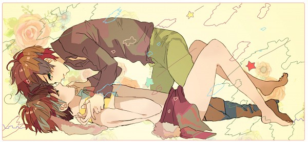 Tags: Anime, Pixiv Id 1182401, Axis Powers: Hetalia, Spain, South Italy, April Fool's Day, Fanart, Facebook Cover, Pixiv, Mediterranean Countries