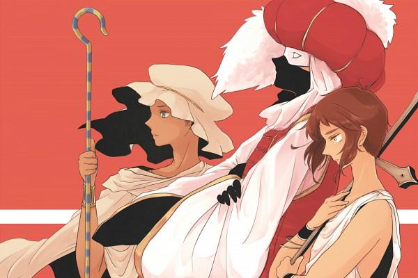 Tags: Anime, Kow, Axis Powers: Hetalia, Greece, Ottoman Empire, Turkey, Egypt, Mediterranean Countries