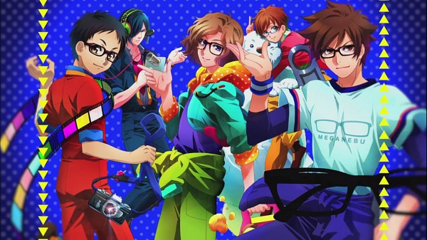 Tags: Anime, Meganebu!, Yukiya Minabe, Akira Souma, Hayato Kimata, Takuma Hachimine, Mitsuki Kamatani