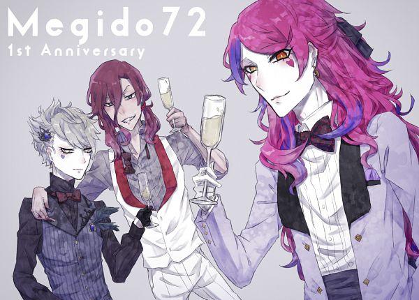 Tags: Anime, Pixiv Id 2312048, Megido72, Incubus (Megido72), Mephisto (Megido72), Caspiel (Megido72), Fanart From Pixiv, Pixiv, Fanart