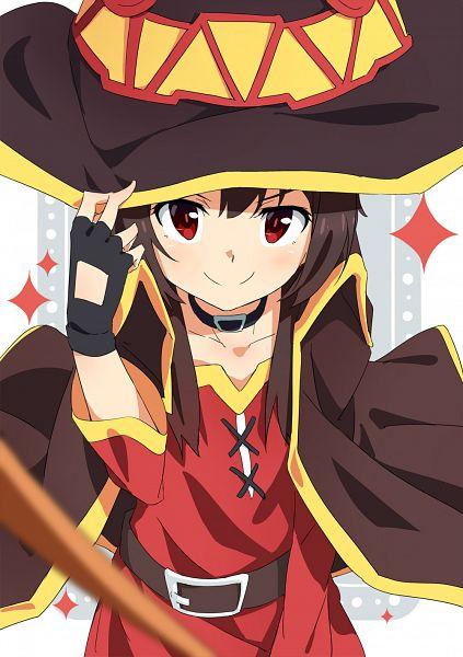 Tags: Anime, Pixiv Id 5276533, Kono Subarashii Sekai ni Shukufuku wo!, Megumin, Mobile Wallpaper