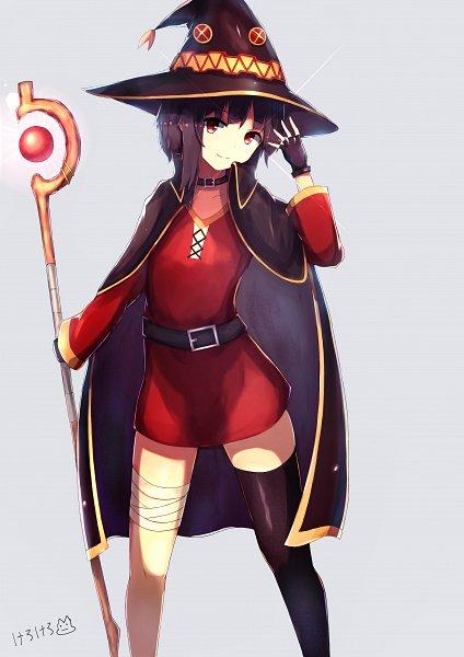 Tags: Anime, Pixiv Id 18176075, Kono Subarashii Sekai ni Shukufuku wo!, Megumin