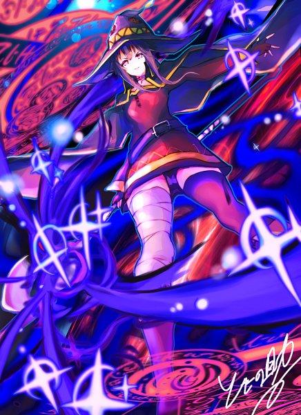 Tags: Anime, Pixiv Id 24963071, Kono Subarashii Sekai ni Shukufuku wo!, Megumin, Pixiv, Fanart, Fanart From Pixiv