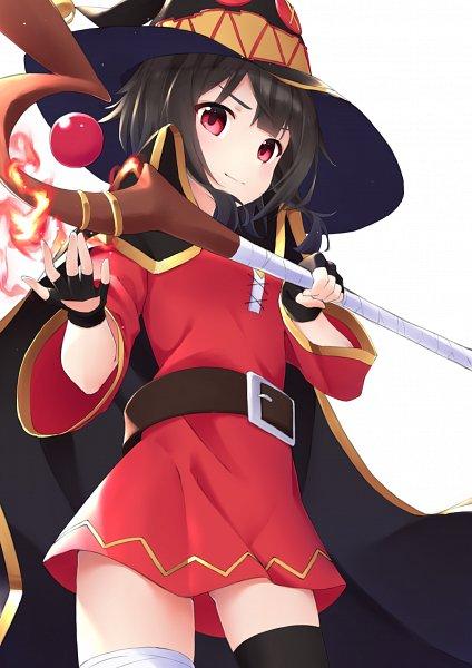 Tags: Anime, Pixiv Id 28271528, Kono Subarashii Sekai ni Shukufuku wo!, Megumin, Fanart From Pixiv, Pixiv, Fanart