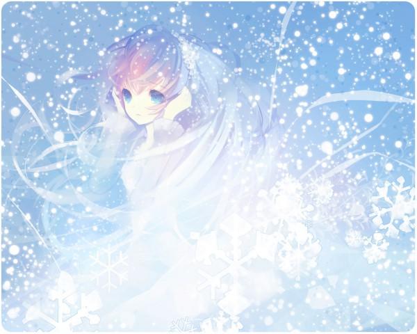 Tags: Anime, Petit Devil, VOCALOID, Megurine Luka, Pixiv, Wallpaper