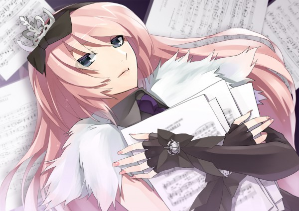 Tags: Anime, VOCALOID, Megurine Luka, Sheet Music