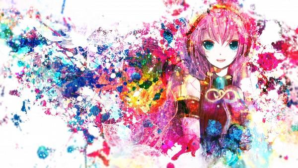 Tags: Anime, Sazanami Shione, VOCALOID, Megurine Luka, Wallpaper, HD Wallpaper, Facebook Cover, Fanart