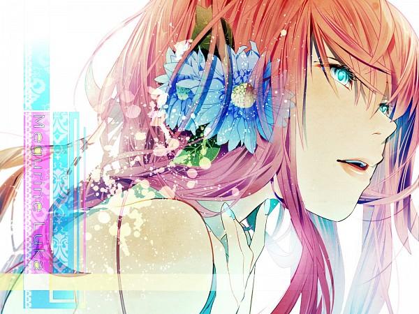Tags: Anime, Keishi, VOCALOID, Megurine Luka, Aqua Nails, Wallpaper, Fanart From Pixiv, Fanart, Pixiv, Revision