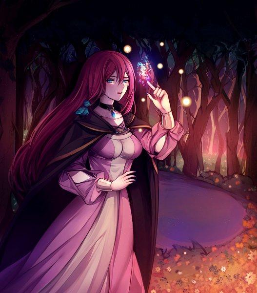 Tags: Anime, Pixiv Id 14439166, VOCALOID, Megurine Luka, Fireflies, Evillious Chronicles, Fanart From Pixiv, Fanart, Pixiv, Story of Evil
