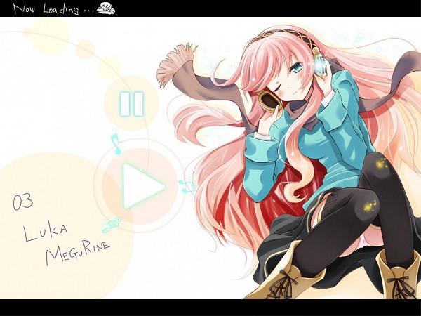 Tags: Anime, Komone Ushio, VOCALOID, Megurine Luka
