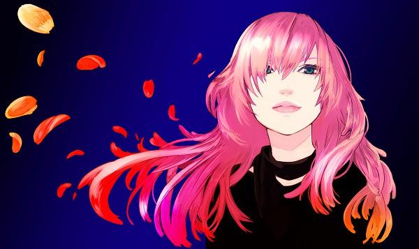 Tags: Anime, Ranmaru (Iro), VOCALOID, Megurine Luka, Wallpaper, Pixiv