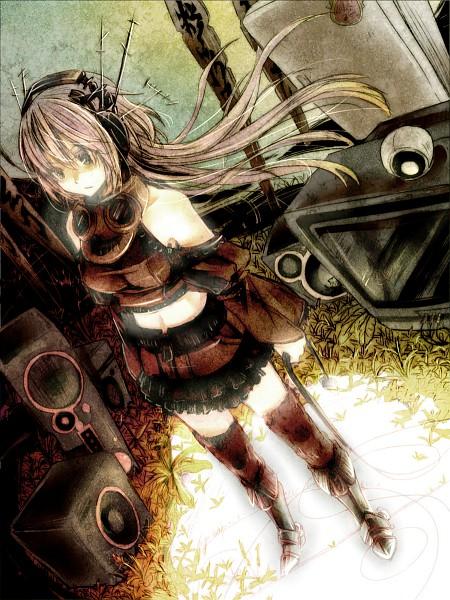 Tags: Anime, Sakanahen, VOCALOID, Megurine Luka