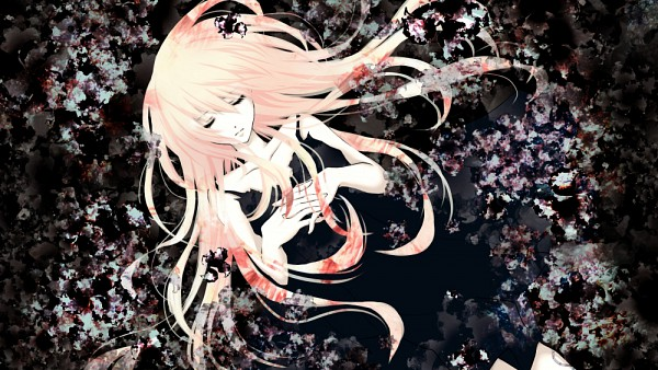Tags: Anime, Aonoe, VOCALOID, Megurine Luka, If (Song Picture), Praying, Pixiv, Facebook Cover