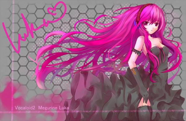 Tags: Anime, VOCALOID, Megurine Luka