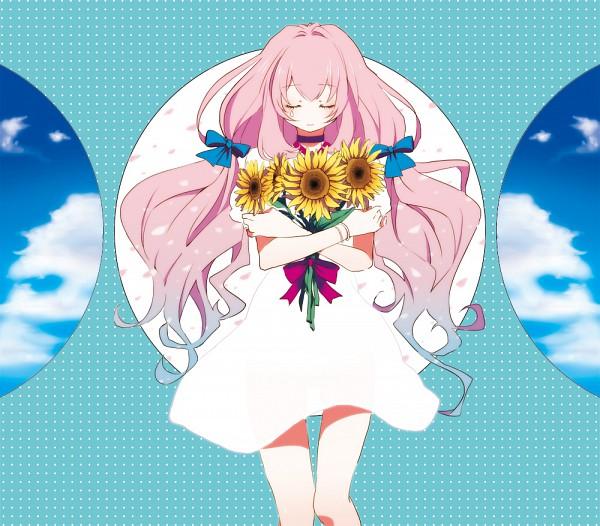 Tags: Anime, Yui (Rogusouku), VOCALOID, Megurine Luka, Fanart, Pixiv