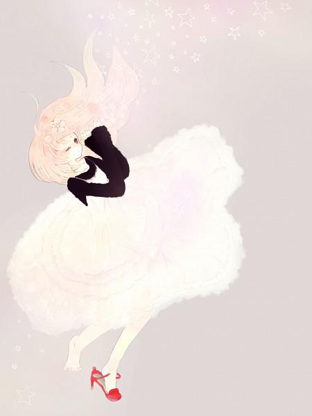 Tags: Anime, VOCALOID, Megurine Luka, Single Shoe