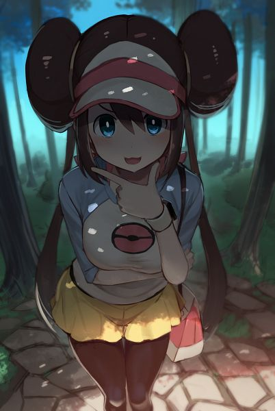 Tags: Anime, 5240mosu, Black and White 2, Pokémon, Mei (Pokémon), Pixiv, Fanart, Fanart From Pixiv
