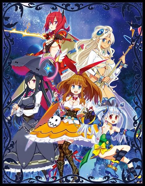 Tags: Anime, MeiQ no Chika ni Shisu, Estra (MeiQ), Official Art, Character Request, Meiq: Labyrinth Of Death