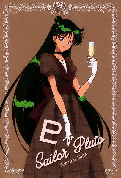 Tags: Anime, Toei Animation, Bishoujo Senshi Sailor Moon, Meiou Setsuna, Official Art, Scan