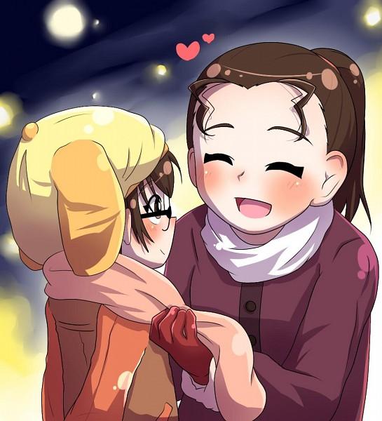 Tags: Anime, Pixiv Id 1036011, Meitantei Conan, Hondou Eisuke, Mizunashi Rena, Pixiv, Fanart, Fanart From Pixiv, Detective Conan