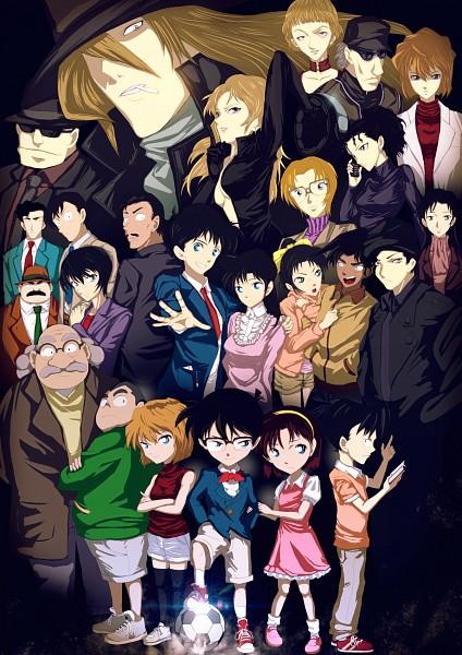 Tags: Anime, Infinote, Meitantei Conan, Touyama Kazuha, Gin (Meitantei Conan), Haibara Ai, Yoshida Ayumi, Agasa Hiroshi, Satou Miwako, Vodka (Meitantei Conan), Kudou Shinichi, Miyano Shiho, Jodie Starling, Detective Conan