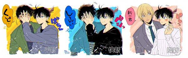 Tags: Anime, Dandel, Meitantei Conan, Amuro Tooru, Hattori Heiji, Kudou Shinichi, Detective Conan