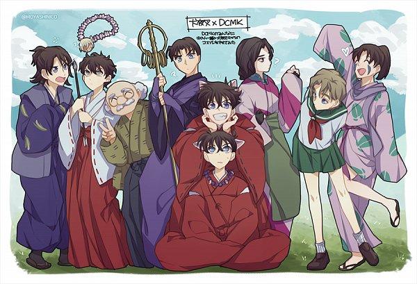 Tags: Anime, Monicanico, Meitantei Conan, Detective Conan: Crimson Love Letter, Magic Kaito, Kuroba Kaito, Agasa Hiroshi, Ooka Momiji, Kudou Shinichi, Touyama Kazuha, Sango (cosplay), Myouga (Cosplay), Miroku (Cosplay), Detective Conan