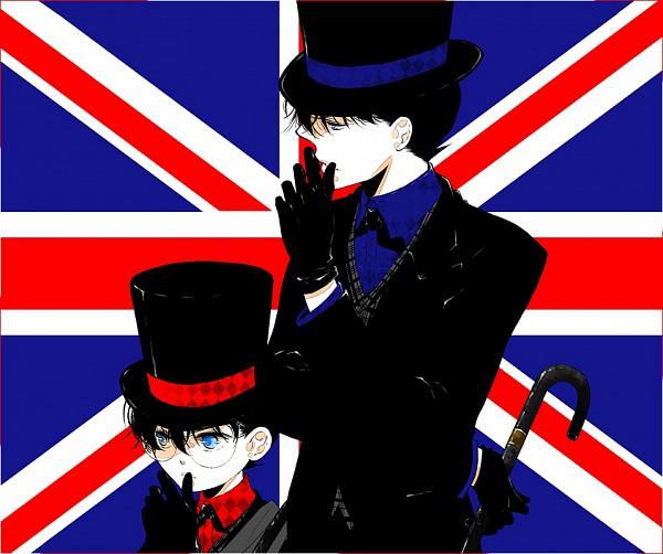 Tags: Anime, Tennen Hz, Meitantei Conan, Edogawa Conan, Kudou Shinichi, Flag Background, Detective Conan