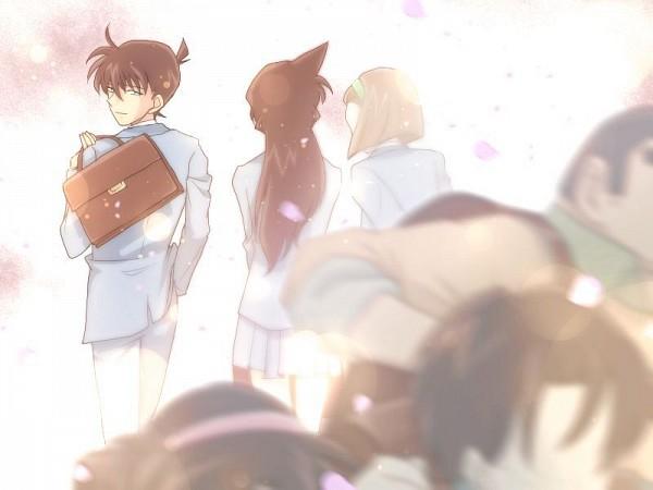 Tags: Anime, Meitantei Conan, Suzuki Sonoko, Kudou Shinichi, Tsuburaya Mitsuhiko, Mouri Ran, Kojima Genta, Yoshida Ayumi, Shounen Tanteidan, Detective Conan