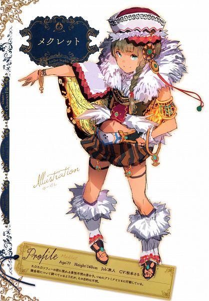 Tags: Anime, Yuugen, Gust, Atelier Sophie Artworks, Atelier Sophie, Meklet (Atelier), Scan, Mobile Wallpaper, Official Art